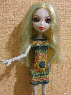 by zinchik Love the crochet mandala dress