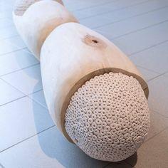 Mysteeri, wood and ceramic, 2015