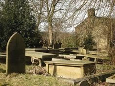 Grave yard in bronte country (taken by me 2011)