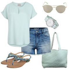 Sommer-Outfits: FreshMint bei FrauenOutfits.de