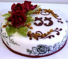 Фото тортов на юбилей садовода