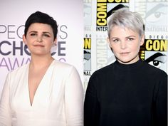 Stars love to switch up their look. From major dye jobs to cool cuts, these are the best hair makeovers of Celebrity Hairstyles, Cool Hairstyles, Ginnifer Goodwin, Celebs, Women, Celebrities, Fancy Hairstyles, Celebrity, Famous People