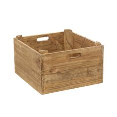 OPBERGBOX, HOUT - GASPARD webshop: www.gaspard-by-cl.be