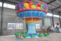 shaking head swing flying chair amusement rides thrilling rides