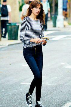 Alexa Chung is our Style Girl Crush for Wednesday! www.sarahsevenblog.com