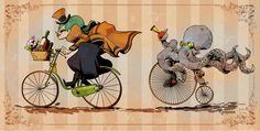 1000+ images about Brian Kesinger/ (Otto & Victoria) on Pinterest