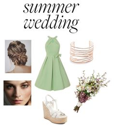 """""""Summer Wedding #3"""" by caseyanne18 on Polyvore featuring Yves Saint Laurent, Alexis Bittar and Burberry"""