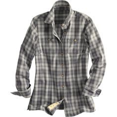 Your Go-To Philly shirt: the Duluth Trading Company Women's Free Swingin' Flannel Shirt | www.herphilly.com