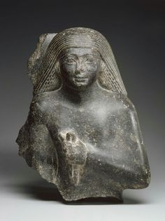Granodiorite statue of Ahmose, called Patjenna. New Kingdom. 18th dynasty. Reign of Tuthmosis III. 1479–1425 B.C. | Museum of Fine Arts, Boston