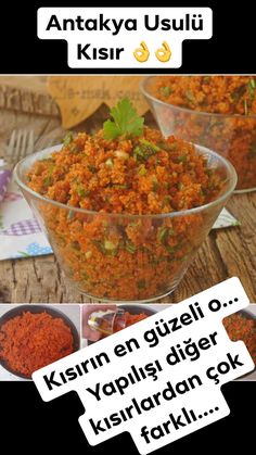 Antakya Usulü Kısır – Vegan yemek tarifleri – Las recetas más prácticas y fáciles Crockpot Recipes, Chicken Recipes, Vegan Recipes, Easy Recipes, Turkish Recipes, Ethnic Recipes, Turkish Kitchen, Ground Beef Recipes, Vegan Dinners