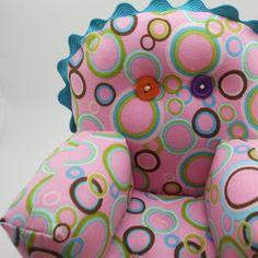 Silly Circles Pincushion Chair via Etsy