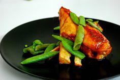 .: pittige kip met ahornsiroop, gegrilde pastinaak en...