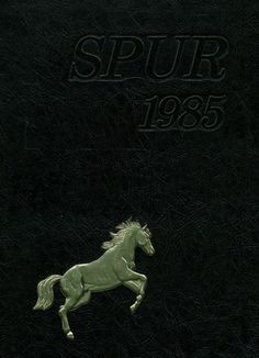 """1985 cover of the of the Parkway Central High School """"Spur"""", Chesterfield, Missouri.     #1985 #ParkwayCentral #yearbook"""