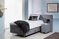 Thuis het zelfde slaapcomfort als in een hotel Boxspring bed 90, 100 of 120 breed http://www.theobot.nl/collectie/9-boxsprings/33-norma.html