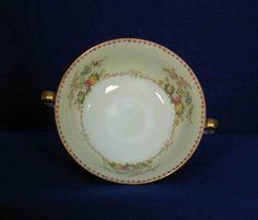 Meito Japan Pattern Marjorie White Cream Soup Bowl bfe2307 #Meito