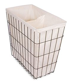 BirdRock Home Wire Double Laundry Hamper with Liner | Mod... https://www.amazon.com/dp/B01HR0XJBC/ref=cm_sw_r_pi_dp_jM1Nxb67AC1WT
