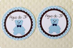 Festa Pronta - Urso - Azul e marrom - Tuty - Arte & Mimos www.tuty.com.br Que tal usar esta inspiração para a próxima festa? Entre em contato com a gente! www.tuty.com.br #festa #personalizada #party #tuty #urso #azul #marrom #cha