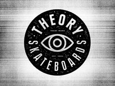 Theory Skateboards Identity by Andrew Fairclough, via Behance