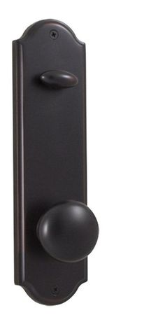 Weslock 6600I Single Cylinder Interior Pack Featuring an Impresa Knob from the E Oil Rubbed Bronze Handleset Interior Pack Single Cylinder