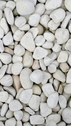 Soft White Rocks iPhone 5(s) Wallpaper