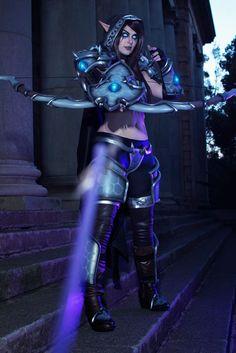 Videogame: World Of Warcraft / Heroes Of Storm. Character: Sylvana . Cosplayer: tayla Barter 'aka' Kinpatsu. from. South Africa. Photo: GiantShev 2015.
