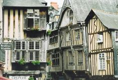 The medieval walled town of Dinan in Brittany. Makes the history buff in me happy just looking at the photo!