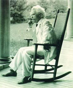 """Samuel Clemens, a.k.a. Mark Twain, brought the """"common folks"""" voice to his writing and changed the world of literature as we knew it. Reading his work is like sitting in the front yard and listening to my dearly missed Grandpa tell stories of his childhood in the Depression-Era Ozarks. To inspire that kind of emotion in a reader is what good writing is all about."""
