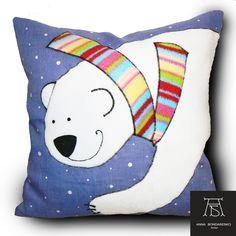 polar bear, handmade