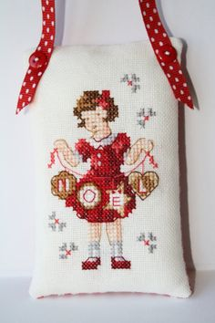 Noel Cross stitch Completed Christmas by RainbowFelt on Etsy, $18.20