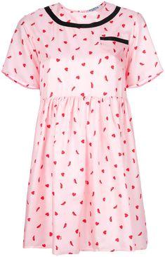Vivetta heart-print flared dress