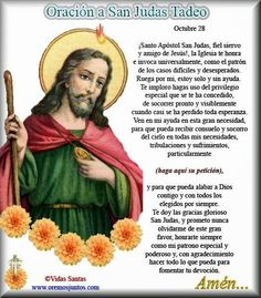 α JESUS NUESTRO SALVADOR Ω: Oración a Judas Tadeo para casos difíciles y deses...