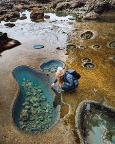Travel dreams: This Beach In Canada Is Filled With Crystal Blue Tide Pools And It's So Magical - Awesome! Vacation Places, Dream Vacations, Vacation Spots, Vacation List, Beach Vacations, Vacation Ideas, Beautiful Places To Travel, Cool Places To Visit, Canada Travel