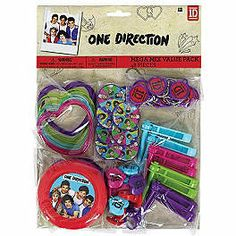 ONE DIRECTION VALUE PACK FAVORS (FOR 8 Guests) $9.99
