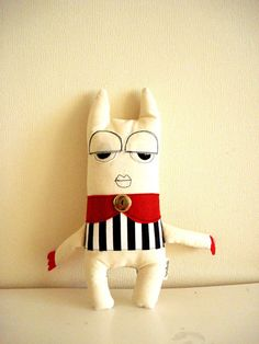 Circus monster by cronopia6 on Etsy, $22.00