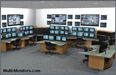 Military-Training-and-Command-Multi-Monitor-Computer-Desk-Workstation-Console-Display-Array-Super-PC-1 | Flickr - Photo Sharing!