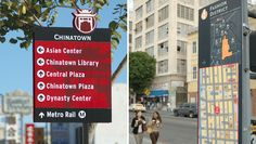 Downtown Los Angeles District Wayfinding | Hunt Design with Corbin Design
