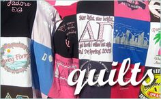 quilts from old t shirts