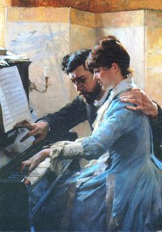 Albert Edelfelt [1854-1905] Финляндия