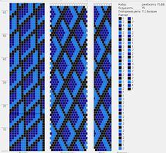 Lbeads: схема для бисерного жгута