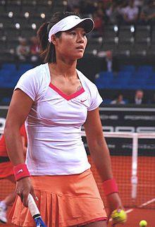 Tennis player Li Na of China