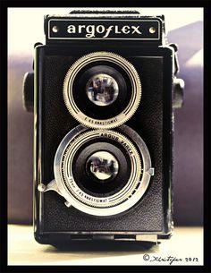 Argoflex in Vintage Camera Portraits