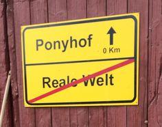 Das Leben ist kein Ponyhof, oder doch?