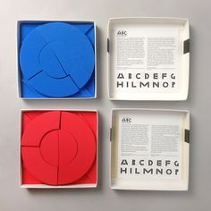 ABC with imagination by Bruno Munari Smart Packaging, Design Packaging, Educational Toys For Kids, Kids Toys, Paper Engineering, Machine Design, Diy For Kids, Gifts For Kids, Bruno Munari