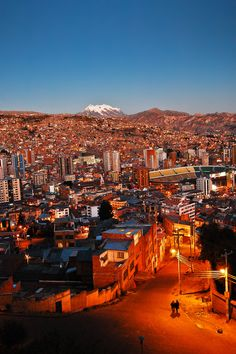 Meanwhile, in La Paz, Bolivia...
