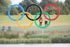 Olympic rings at Eton Dorney | Olympic Photo