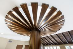 Modern Interior Entry Staircase: modern architecture, warm modern, organic architecture, rich organic materials, organic style, beautiful custom crafted spiral staircase, custom wood and steel staircase, post & beam ceilings.