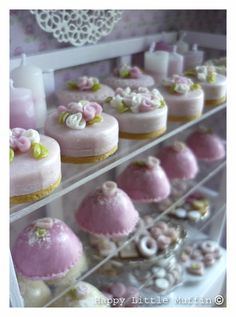 Mini Bakery Case at Happy Little Muffin