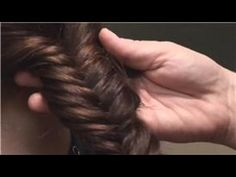 I love how this braid looks. Super Intricate, but surprisingly easy to do.