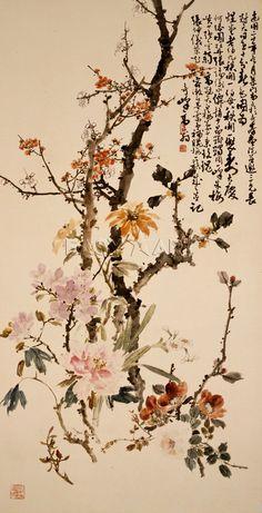 Ten Spring Flowers, Gao Qifeng Prints from Easyart.com