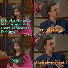 """#GirlMeetsWorld 1x05 """"Girl Meets the Truth"""" - Cory and Riley"""